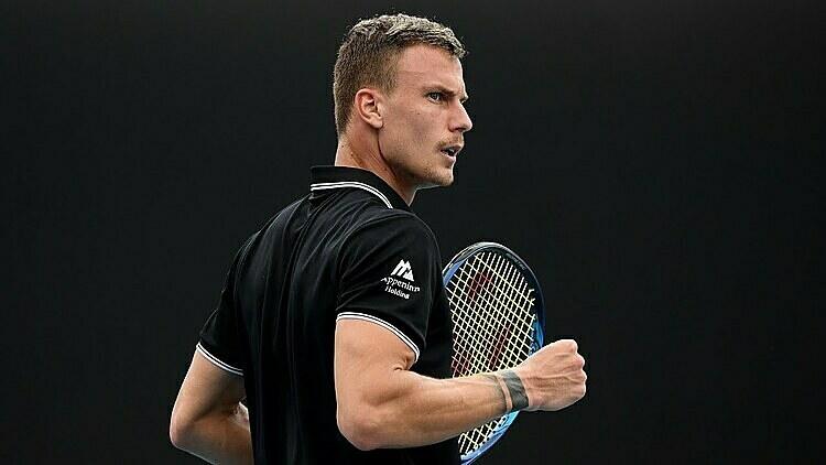 Fucsovics là tay vợt Hungary duy nhất trong top 100. Ảnh: AP.