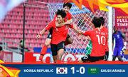 Saudi Arabia 0-1 Hàn Quốc