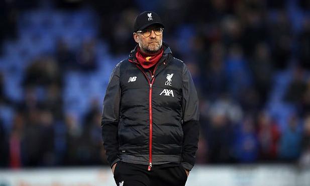 Liverpool sẽ cử đội trẻ tham dự trận đá lại Cup FA với Shrewsbury. Ảnh: PA.