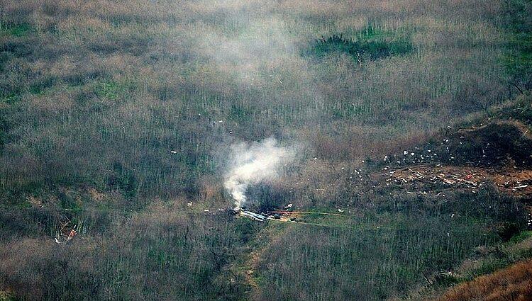 Hiện trường vụ tai nạn nằm ở thành phố Calabasas.