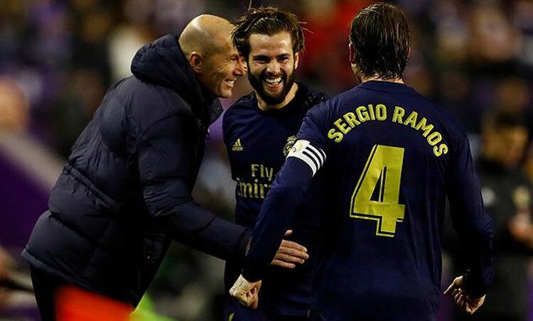 Zidane có thể hài lòng về các học trò.