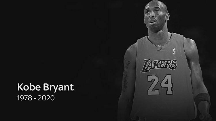 Bryant dành trọn vẹn 20 năm chuyên nghiệp để thi đấu cho Los Angeles Lakers. Ảnh: SkySports.