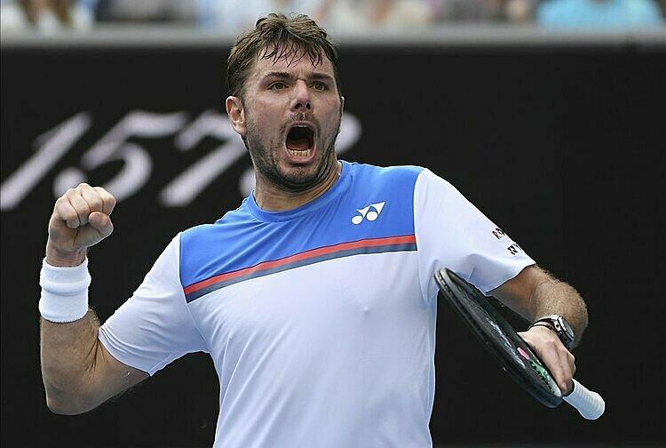 Wawrinka từng ba lần vô địch Grand Slam. Ảnh: AP.