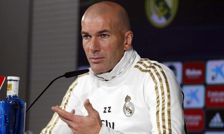 Zidane chưa một lần đoạt Cup Nhà vua, cả trên cương vị HLV lẫn cầu thủ. Ảnh: AS.