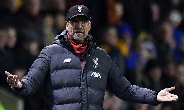 Klopp kiên quyết không tham dự trận đá lại Cup FA, dù bị chê là thiếu tôn trọng giải đấu. Ảnh: AFP.