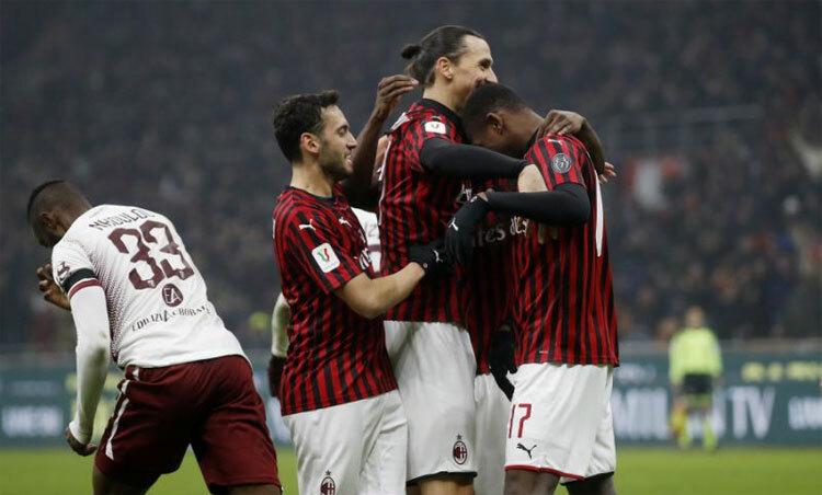 Milan tái hiện bản lĩnh của một ông lớn. Ảnh: AP