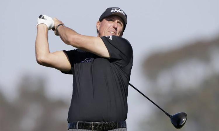 Mickelson tỏ ra hào hứng với ý tưởng mới của Premier Golf League. Ảnh: AP.