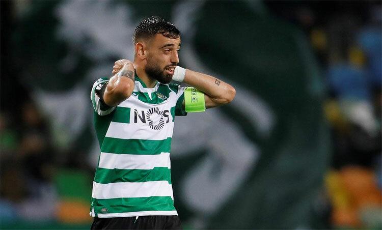 Bruno Fernandes là ngôi sao hàng đầu của Bồ Đào Nha. Ảnh: Reuters