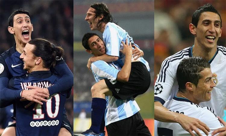 Di Maria: Chơi với nhiều danh thủ, và thấy Messi hay nhất