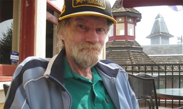 Al Howie tiều tuỵ vì bệnh tật trong những năm cuối đời. Ảnh: Submitted.
