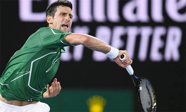 Djokovic nhỉnh hơn Thiem ở hầu hết các chỉ số quan trọng. Ảnh: AAP.