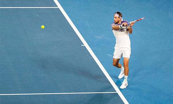 Thiem sẽ còn phải cố gắng rất nhiều để phá vỡ sự thống trị của bộ ba quyền lực Djokovic - Federer - Nadal. Ảnh: NYT.