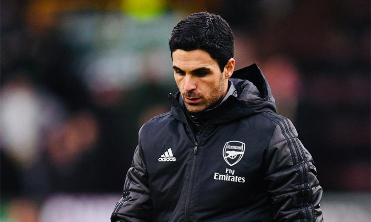 Arteta thất vọng khi Arsenal ra về với chỉ một điểm. Ảnh: ArsenalFC.