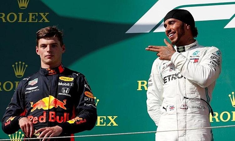Verstappen cho rằng Hamilton giỏi nhưng có thể bị đánh bại. Ảnh: Reuters.