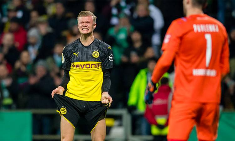 Haaland không cứu được Dortmund, nhưng vẫn để lại dấu ấn với kỷ lục mới. Ảnh: BVB.de.