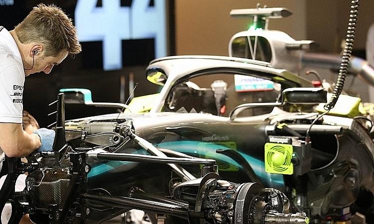 Mercedes tự tin sẽ có động cơ tốt nhất khi mùa giải 2020 bắt đầu. Ảnh: Motosport.
