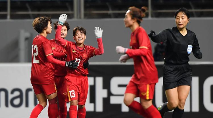 Việt Nam lần đầu có vé dự play-off tranh suất dự Olympic sau chiến thắng 1-0 trước Myanmar ngày 6/2. Ảnh: AFC