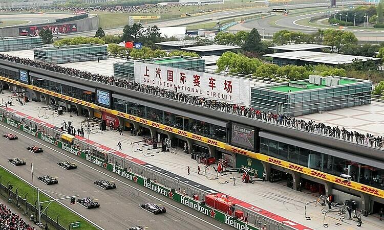 Chặng đua F1 Trung Quốc hoãn. Ảnh: XPB.