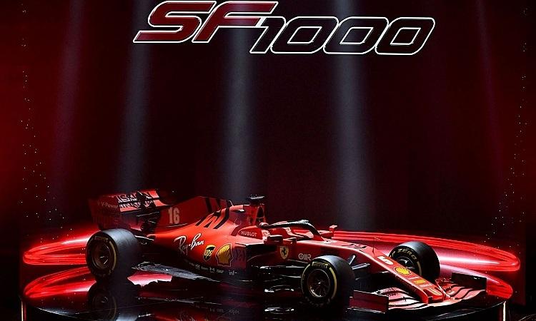 Chiếc SF1000 được chú trọng cải thiện lực ép xuống. Ảnh: Racefans.