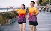 Đường chạy chứng kiến tình yêu hai runner Huế