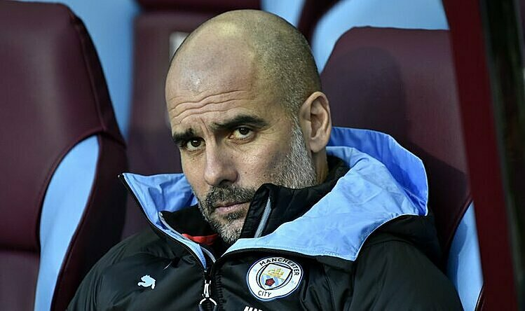 Guardiola đánh giá cao các cầu thủ mà ông từng dẫn dắt. Ảnh: AP.