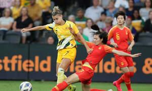 Australia 1-1 Trung Quốc