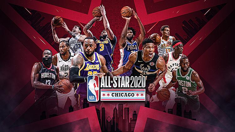 Trận All-Star quy tụ những cầu thủ hay nhất NBA mùa này. Ảnh: NBA.