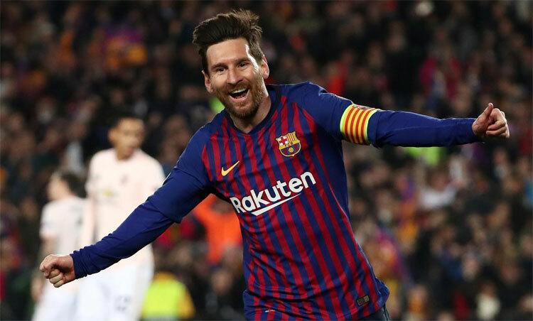 Messi là một biểu tượng của Barca. Ảnh: Reuters.