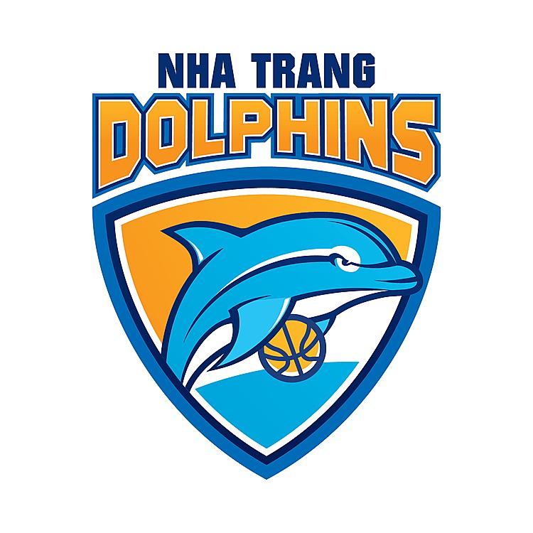 Nha Trang Dolphins chọn loài cá heo làm linh vật. Ảnh: VBA.