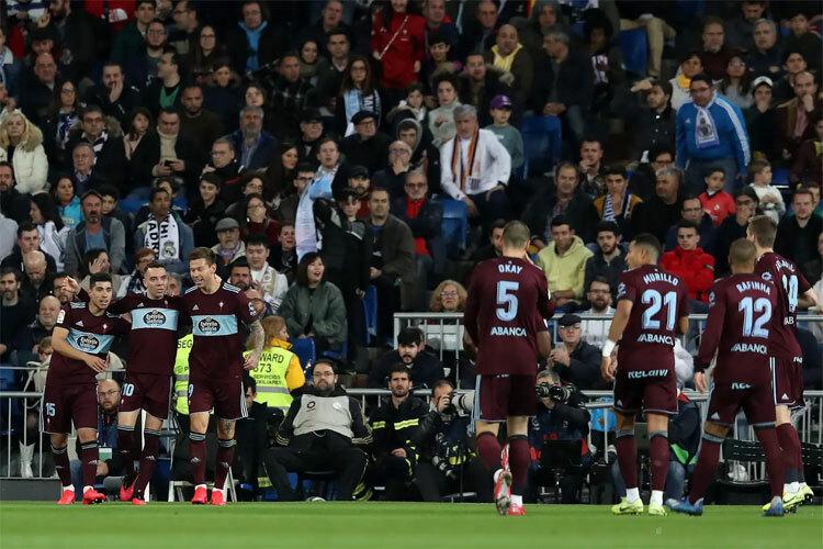Celta Vigo giành một điểm đầy bất ngờ.