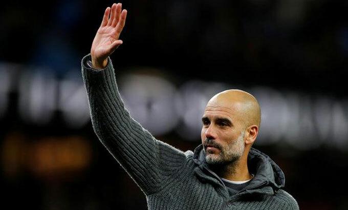 Guardiola là một biểutượngcủa Ngoại hạng Anh. Ảnh: Reuters.