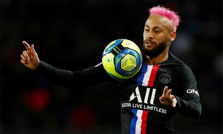 Neymar đã sẵn sàng cùng đội bóng chinh phục đấu trường châu Âu. Ảnh: Reuters.