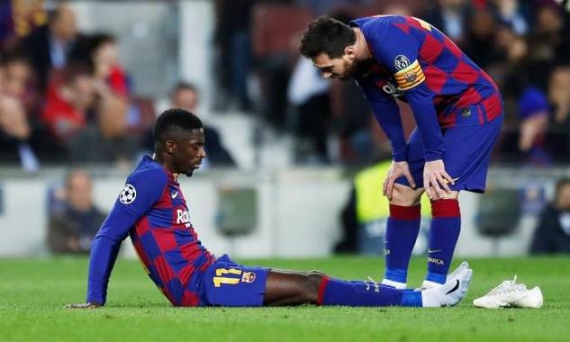 Barca không còn nhiều lựa chọn sau chấn thương của Dembele. Ảnh: DS.