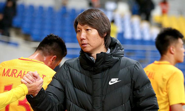 Trung Quốc sẽ đá hai trận vòng loại World Cup 2022 ở Thái Lan. Ảnh: Xinhua.