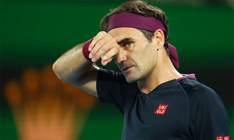 Bốn tháng nghỉ dưỡng thương cùng gánh nặng tuổi tác hứa hẹn sẽ khiến Federer gặp khó khăn lớn khi trở lại. Ảnh: Reuters.
