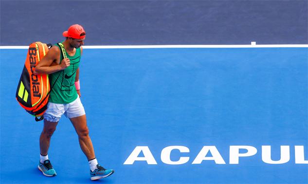 Nadal từng gây thất vọng tại Acapulco năm ngoái. Ảnh: El Espanyol.