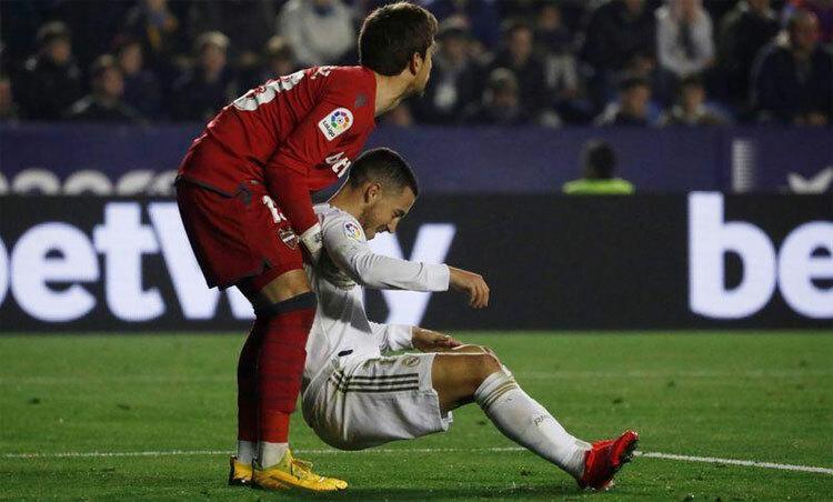 Hazard chưa chứng tỏ được gì với Real. Ảnh: Reuters.