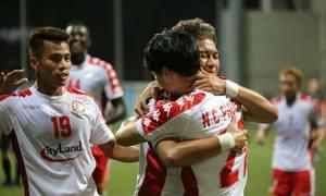 Hougang United 2-3 TP HCM