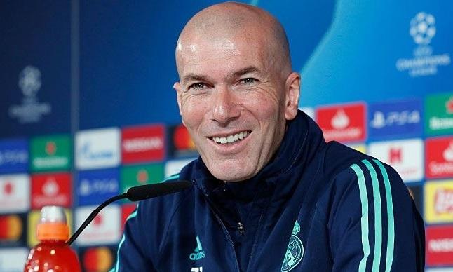 Zidane tự tin trước cuộc tiếp đón Man City, dù không thắng hai trận gần nhất. Ảnh: Real Madrid.