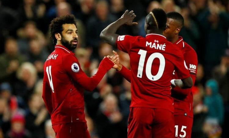 Liverpool đang thắng không biết mệt tại Ngoại hạng Anh. Ảnh: Reuters.