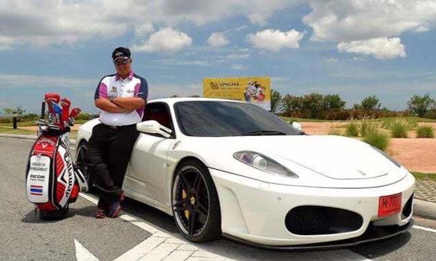 Kiradech không tiếc tiền phục vụ đam mê về xe. Ảnh: Twitter.
