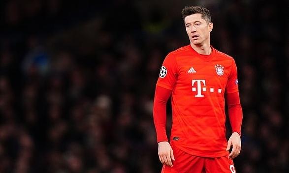 Lewandowski đang dẫn đầu danh sách vua phá lưới Champions League, với 11 bàn thắng. Ảnh: REX.