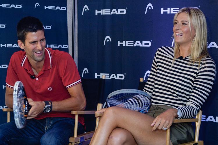 Djokovic là người bạn rất thân của Sharapova.