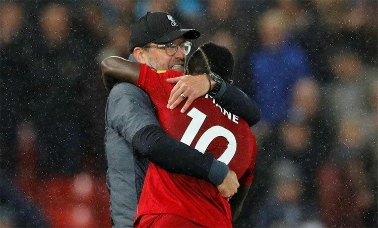 Mane vàKlopp đều là những công thần của Liverpool. Ảnh: Reuters.