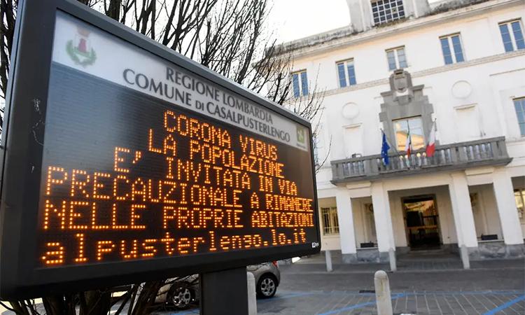 Hoãn các trận Serie A là một trong những biện pháp đặc biệt để nhà chức trách Italy ứng phó với đại dịch đang hoành hành. Ảnh: Reuters.
