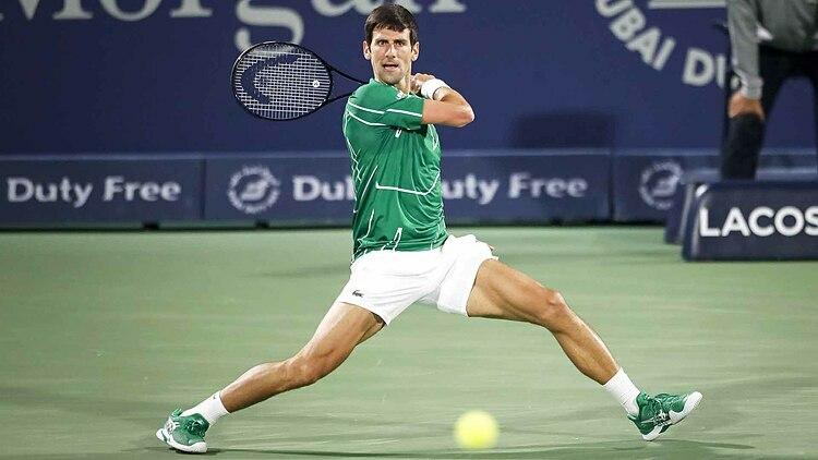 Djokovic đang hướng đến danh hiệu thứ năm ởDubai Tennis Championships 2020. Ảnh: ATP.