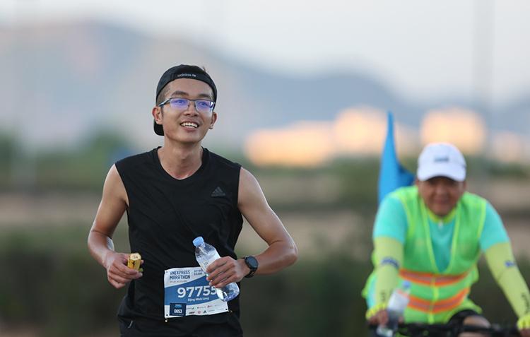 Một runner tại VM Quy Nhơn năm 2019.