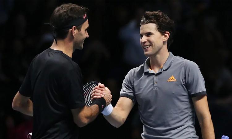 Soán vị trí số ba thế giới của Federer là bước tiến mới trong sự nghiệp của Thiem. Ảnh: ATP.