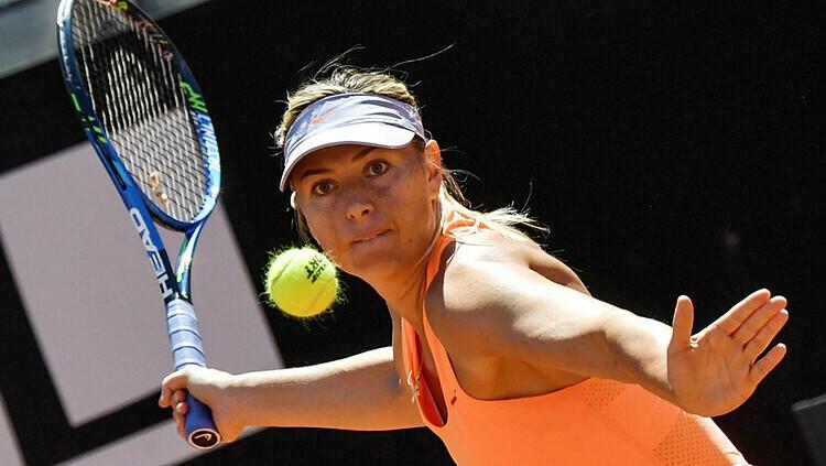 Sharapova giành 36 danh hiệu trong sự nghiệp. Ảnh: AP.