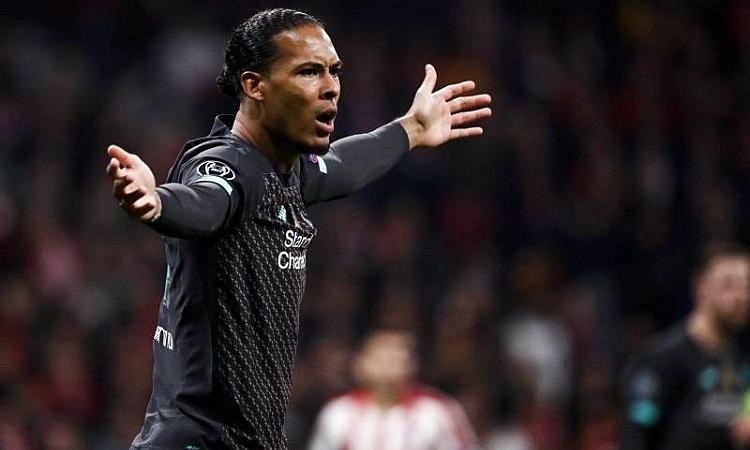 Van Dijk muốn Liverpool thể hiện tinh thần như ở trận thắng Barca mùa trước. Ảnh: AFP.
